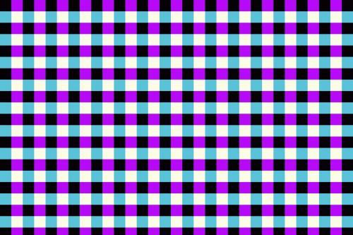 Bright Check Pattern