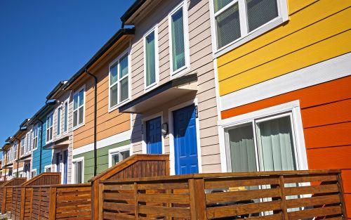 bright colors houston tx blue doors