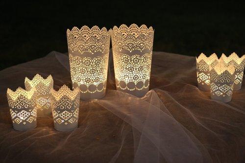 bright decorations  lanterns  light