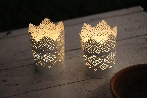 bright decorations  lanterns  the