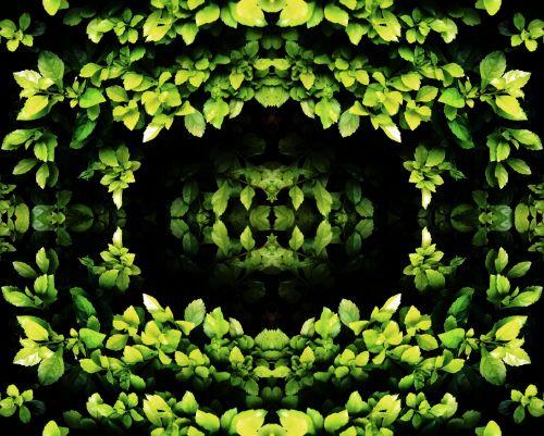 Bright Foliage Garland Pattern