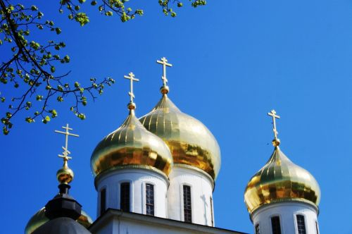 Bright Golden Domes