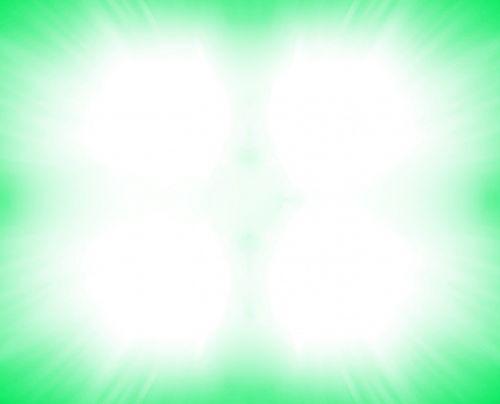 Bright Light Bordered Green