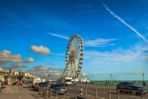 brighton coast promenade