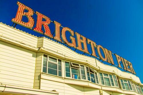 brighton pier the inscription building
