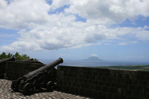 brimstone hill fortres british fort canon