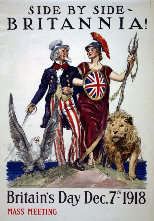 Britains Day Vintage Poster