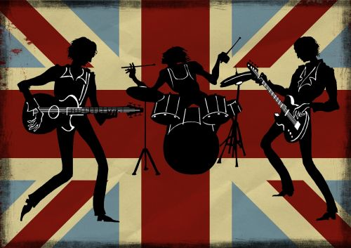 british band silhouette