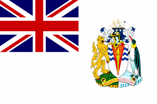 british antarctic territory flag national flag