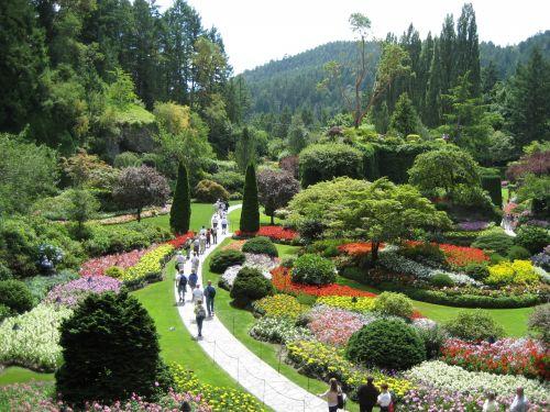 British Columbia's Butchart Gardens