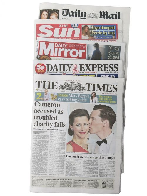 british newspapers the times daily express
