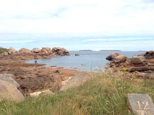 brittany beach sea