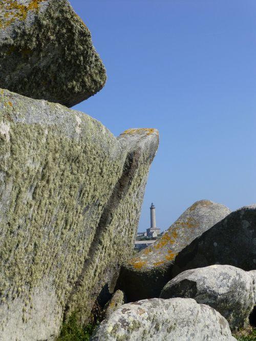 brittany landscape rocky coast