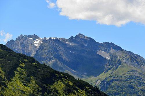broadband tip alpine mountains