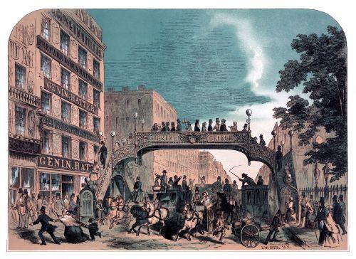 Broadway, New York 1852