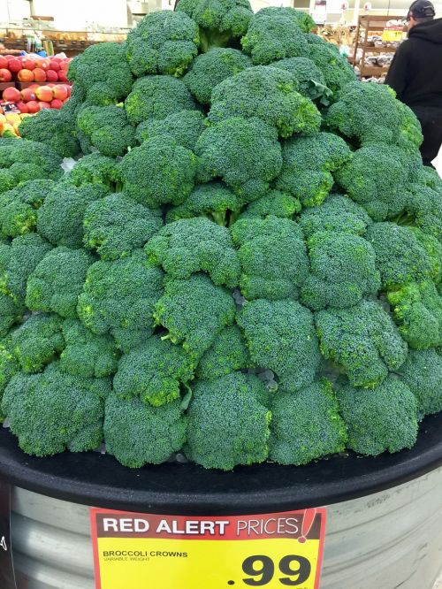broccoli vegetables green