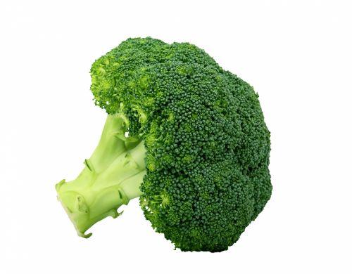 Brokoliai, daržovių, žalias, maistas, sveikas, sveikata & nbsp, maistas, maistingas, mityba, izoliuotas, balta, fonas, brokoliai, baltos spalvos