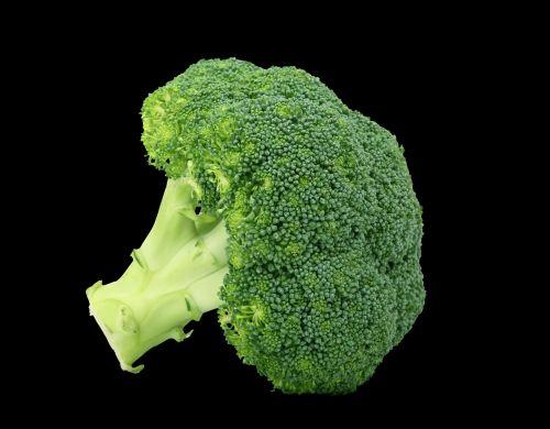 Brokoliai, daržovių, žalias, maistas, sveikas, sveikata & nbsp, maistas, maistingas, mityba, izoliuotas, juoda, fonas, brokoliai ant juodo fono