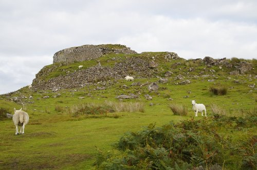 broch  iron age  residential tower