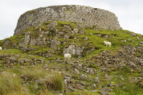broch  tower  iron age