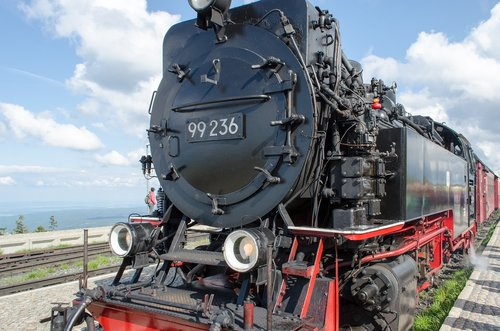 brocken railway  railway  steam locomotive