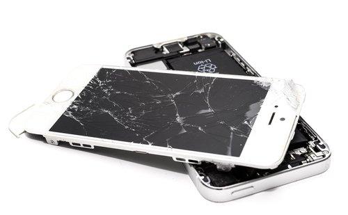 broken  phone  smartphone