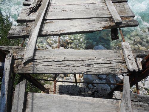 broken bridge adventure danger