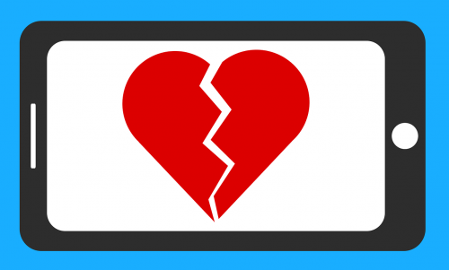 broken heart split-up relationship