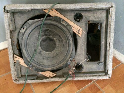 Broken Speaker