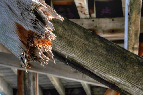 Broken Wood Plank