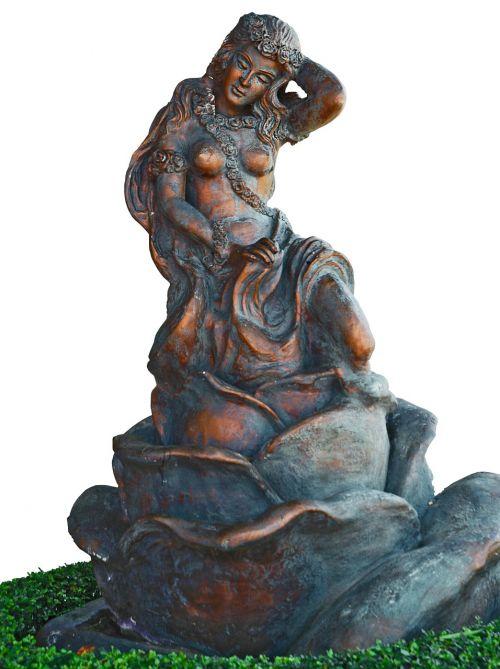 broncefigur sculpture beautiful woman
