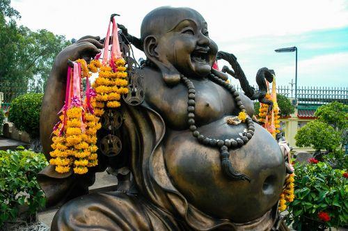 broncefigur buddah fat belly