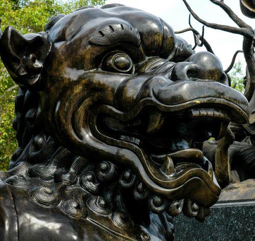 broncefigur statue fantasy figure