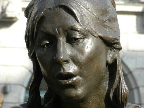 bronza,statula,moteris