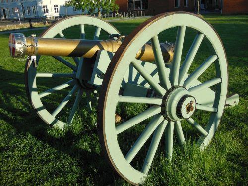 bronze cannon lavette oak wheels