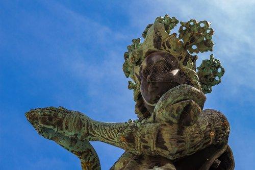 bronze statue  woman  sculpture
