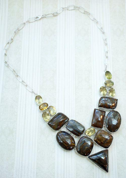 bronzite yellow quartz