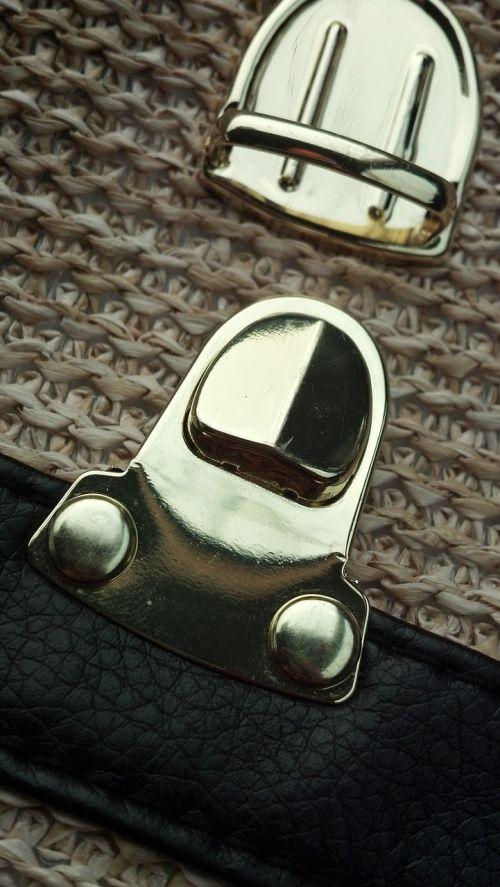 brooch bag gold