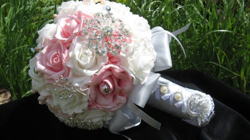 brooch bouquet outdoors business photo