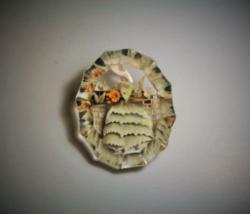 Brooch With Figure