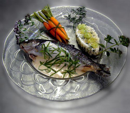 brook trout main course trout