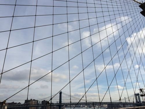 brooklyn bridge view tiles