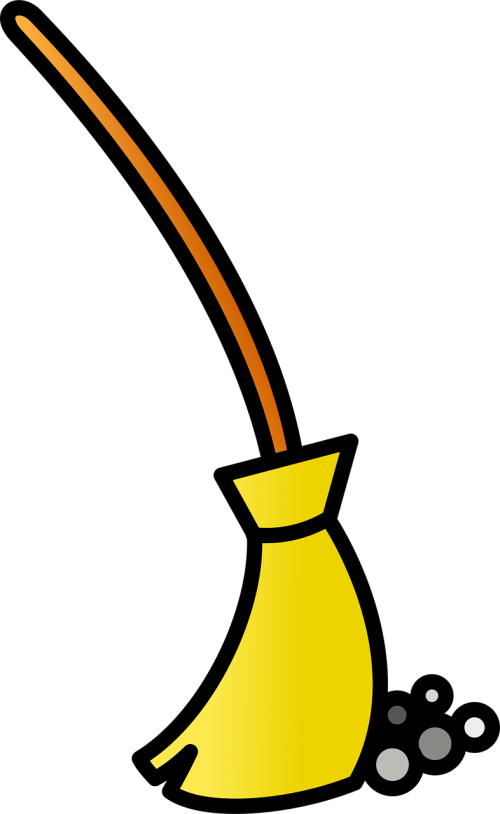 broom clean icon
