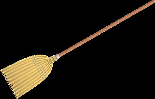 broom cleaning is write