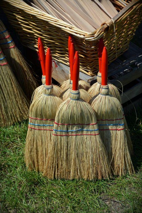 broom hand brush clean