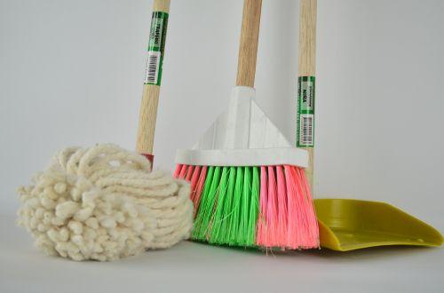 broom ragpicker mop