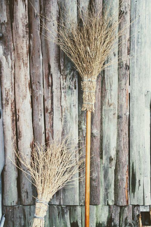 broom still life hand broom