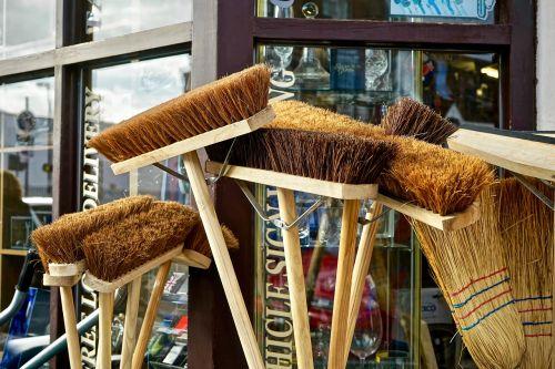 broom sweep brush