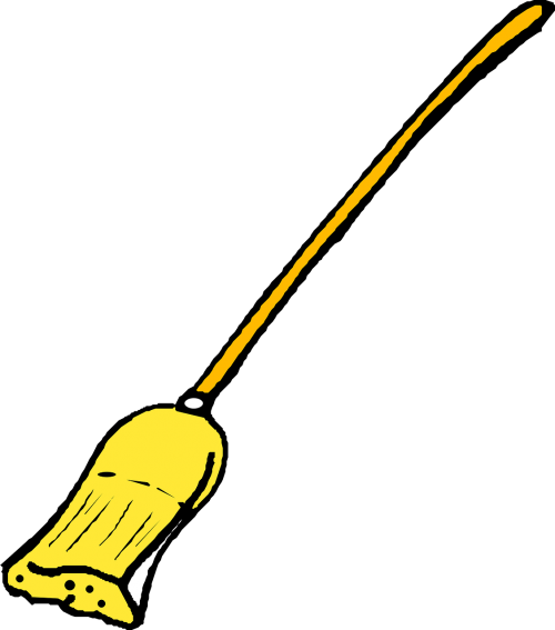 broom cleaning sweep