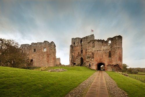 brougham castle  castle  fort